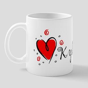 """""""I Love You"""" [Cherokee] Mug"""